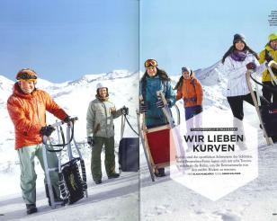 bergwelten test and compare sled